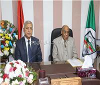 «عباس» و«خليل» يفتتحان مقر هيئة قضايا الدولة الجديد بالمنوفية