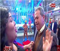 عكاشة يخطف الأنظار في احتفال قناة الحياة بالعام الجديد