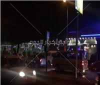 شاهد| احتفالات المصريين في القاهرة والجيزة بالعام الجديد