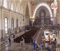 فيديو..كاتدرائية العاصمة الإدارية تستعد لاستقبال قداس عيد الميلاد