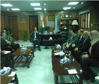 المحرصاوي ومدير منظومة الشكاوي بمجلس الوزراء يبحثان التعاون المشترك