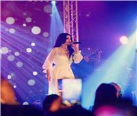 صور| «أطلت بفستان شفاف».. هيفاء تحتفل برأس السنة بتونس