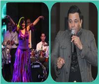 صور| أول حفل لـ«فؤاد» عقب وفاة شقيقه.. وعودة فيفي عبده للرقص
