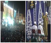فيديو وصور| مولد الحسين.. «الليلة الكبيرة والعالم كتيرة».. والتهامي يُشعل حماس الآلاف
