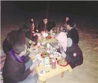 لماذا يقضي أبناء الوادي الجديد ليلة رأس السنة في الصحراء؟
