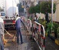 محافظة الجيزة تستعد لاستقبال أعياد الميلاد بحملات نظافة وتجميل لمحيط الكنائس