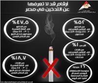 «الوزراء» يحسب المتوسط اليومي للمدخنين في مصر