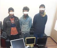 ضبط تشكيل عصابي تخصص في سرقة المتاجر بالقاهرة