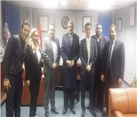 مصر للطيران تقدم خدماتها للخطوط الجوية الكورية في مطار القاهرة