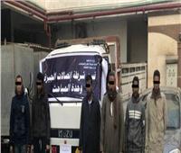 ضبط عصابة سرقة كابلات التليفونات في القاهرة والجيزة