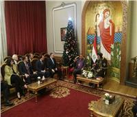 رئيس الطائفة الإنجيلية يزور البابا تواضروس للتهنئة بعيد الميلاد