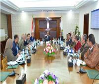 وزير التنمية المحلية يعقد اجتماعاً مع مديري المحاجر بالمحافظات
