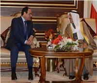 السيسي وأمير الكويت يتفقان على مواصلة جهود تسوية الأزمات العربية سياسيًا