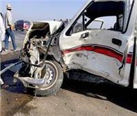إصابة 27 شخصا في حادث تصادم بالطريق الزراعي بالمنيا