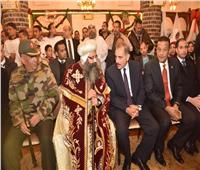 محافظ أسيوط يهنئ الأخوة الأقباط بالعيد ويصف افتتاح الرئيس للمسجد والكنيسة بـ«التاريخي»