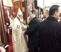 مستقبل وطن الأزبكية يشارك الأخوة الأقباط في احتفالات عيد الميلاد