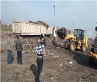 رفع 400 طن مخلفات وفحص عوادم 65 سيارة لمواجهة تلوث البيئة بالشرقية