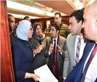 وزيرة الصحة تلتقي وفداً من الأطباء وتتعهد بلقاء دوري لبحث مشاكلهم