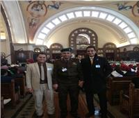 وفد جامعة عين شمس يشارك بافتتاح مسجد وكاتدرائية العاصمة الإدارية