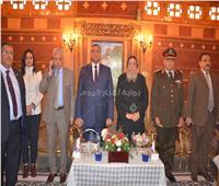 صور| المحافظ والقيادات الأمنية يهنئون رؤساء أديرة وادي النطرون بعيد الميلاد