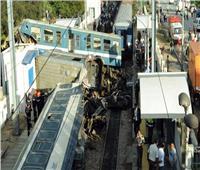 شاهد| لحظة تصادم قطارين في جنوب إفريقيا