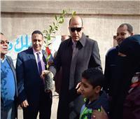 رئيس حي السلام أول يدشن مبادرة «زراعة مليون شجرة مثمرة»