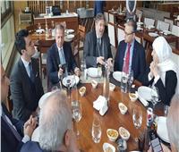 سفيرنا بلبنان يلتقي أعضاء لجنة الصداقة البرلمانية اللبنانية مع مصر
