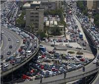 فيديو  المرور: كثافات متوسطة على كافة المحاور والميادين الرئيسية بالقاهرة