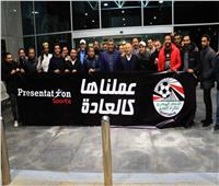 استقبال حافل لوفد اتحاد كرة القدم بعد العودة من السنغال