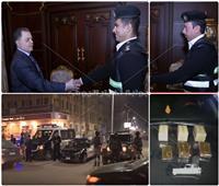 فيديو وصور| شجاعة ضابط شرطة توقع بتاجر مخدرات في الهرم