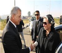 محافظ المنوفية يستقبل وزيرة البيئة لافتتاح مشروع إعادة تدوير البطاريات