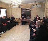 اللقاء الشهري لبطريرك الأقباط الكاثوليك وكهنة الايبارشية