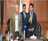 اتحاد الكرة يستقبل وزير الشباب والرياضة بسبب أمم إفريقيا