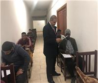 رئيس جامعة الأزهر يقوم بزيارة مفاجئة لامتحانات «الإعلام»