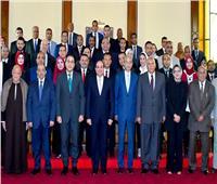 تفاصيل اجتماع الرئيس السيسي بقيادات محافظة الوادي الجديد
