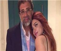 ياسمين الخطيب توضح حقيقة صورتها مع المخرج خالد يوسف