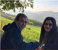 أول رد من خالد يوسف بعد نشر صورته مع ياسمين الخطيب