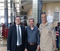 بعثة الإسماعيلي تشكر السفارة المصرية بالكونغو