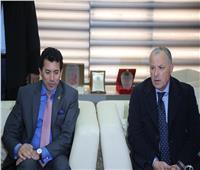 وزير الرياضة يلتقي مجلس إدارة اتحاد الكرة لبحث استعدادات «أمم أفريقيا»