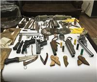 الداخلية تضبط ورشة أسلحة و205 هاربين من أحكام ببني سويف
