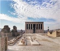 تطوير منطقة «معبد دندرة» تمهيداً لتحويله متحف مفتوح