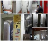 «مراحيض المترو».. 3.5 ملايين راكب يتنافسون على حمام «مترx متر»