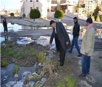 بالصور| مجلس مدينة دمنهور يرفض إصلاح كسر «ماسورة مياه» بمركز الأورام