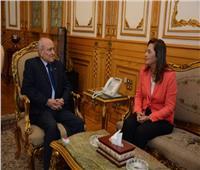 «العصار» يبحث مع وزيرة التخطيط ترشيد الواردات ودعم الصناعة الوطنية