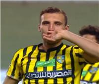 فيديو  المقاولون العرب يتقدم على مصر المقاصة في الشوط الأول