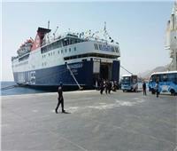 ميناء سفاجا يستقبل 170 شاحنة
