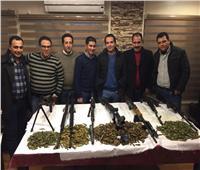 ضبط جرينوف وأسلحة ثقيلة في حملة لمباحث الإسماعيلية
