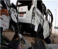 إصابة 16 شخصا في انقلاب 3 سيارات بالعياط