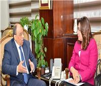 وزير التنمية المحلية يعقد اجتماعا مع محافظ دمياط لمتابعة موقف المشروعات المتعثرة