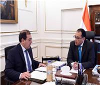مدبولي يتابع مع وزير البترول نتائج اجتماعات «منتدى غاز شرق المتوسط»